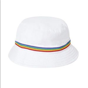 Hundred Pieces rainbow bucket hat NWT